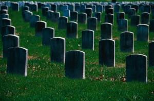 Cemetery in Toronto