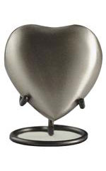 Eckels PEWTER HEART 2802H KS - $75